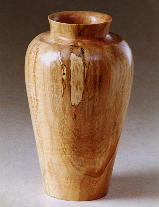 Spalted Maple Vase  $60.00
